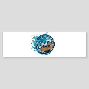 North Carolina - Emerald Isle Bumper Sticker