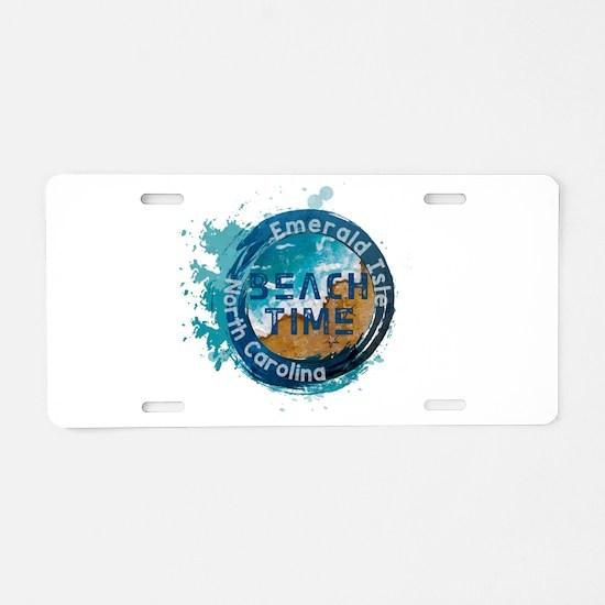 North Carolina - Emerald Is Aluminum License Plate