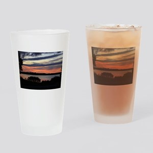 sunset Edisto beach Drinking Glass