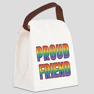 PROUD-FRIEND_TR Canvas Lunch Bag