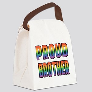 PROUD-BROTHER_TR Canvas Lunch Bag