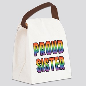 PROUD-SISTER_TR Canvas Lunch Bag