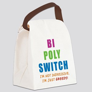 BI-POLY-SWITCH_NEW Canvas Lunch Bag