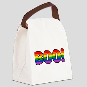 boo-rainbow Canvas Lunch Bag