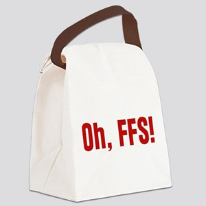 oh-ffs_tr Canvas Lunch Bag