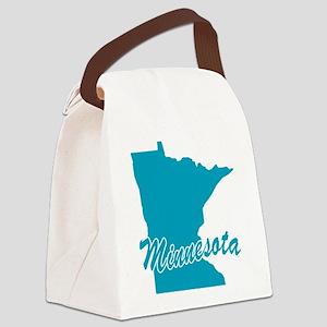 3-minnesota Canvas Lunch Bag