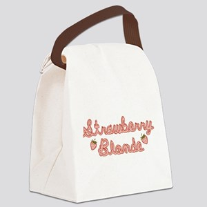 strawberry-blonde_tr Canvas Lunch Bag