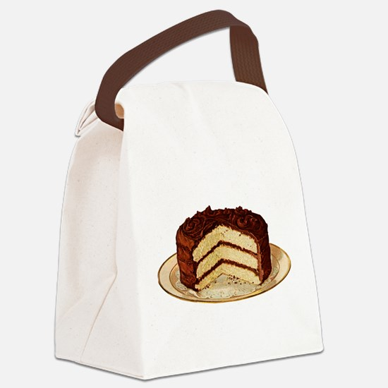 cake-retro_trans.png Canvas Lunch Bag