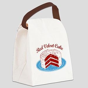 red-velvet-cake2 Canvas Lunch Bag