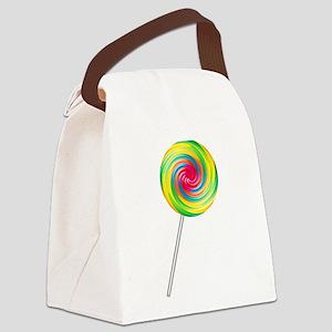 lollipop Canvas Lunch Bag