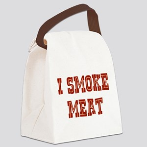 I Smoke Meat Canvas Lunch Bag