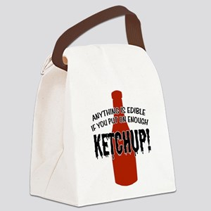 KETCHUP Canvas Lunch Bag