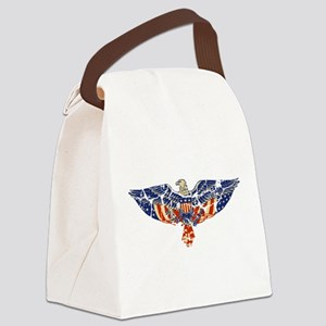 EAGLE-RETRO Canvas Lunch Bag