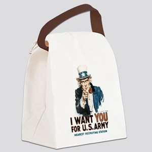 i-want-you_tee Canvas Lunch Bag