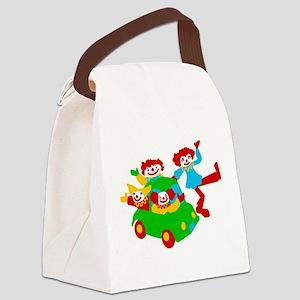 clown-car Canvas Lunch Bag