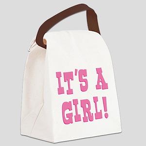 itsagirl Canvas Lunch Bag