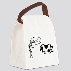 moo-cow Canvas Lunch Bag