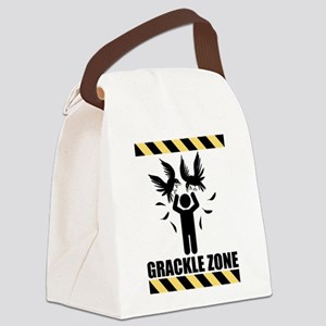 GRACKLE-ZONE Canvas Lunch Bag