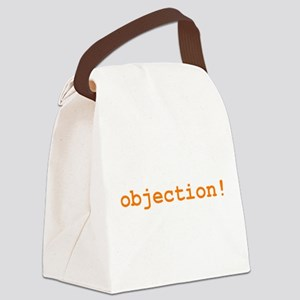 objection_t-shirt Canvas Lunch Bag