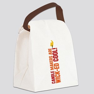CANDLE-COOL_TR Canvas Lunch Bag