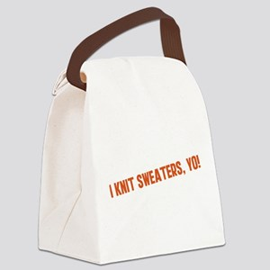 i-knit-sweaters-yo Canvas Lunch Bag