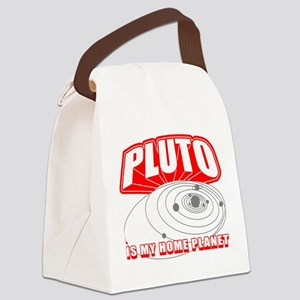 PLUTO-IS-MY-HOME-PLANET_BL Canvas Lunch Bag