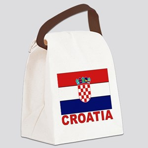 croatia_b Canvas Lunch Bag
