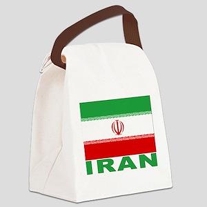 iran_b Canvas Lunch Bag