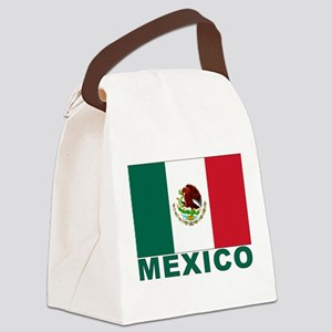 mexico_s Canvas Lunch Bag