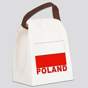 poland_b Canvas Lunch Bag
