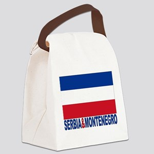 serbia-and-montenegro_b Canvas Lunch Bag