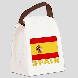spain_b Canvas Lunch Bag