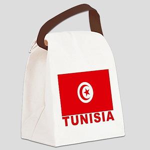 tunisia_b Canvas Lunch Bag