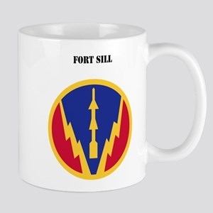 SSI - Fort Sill with Text Mug
