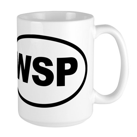 Weird Stinky People Large Mug