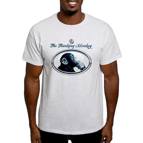 The Thinking Monkey Light T-Shirt