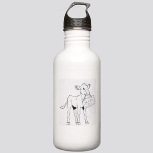 Cows Love Vegans Stainless Water Bottle 1.0L