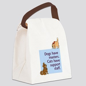 cats-support-staff Canvas Lunch Bag