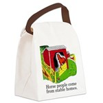 FIN-stable-homes Canvas Lunch Bag