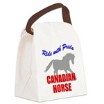 rwp-canadian-horse.tif Canvas Lunch Bag
