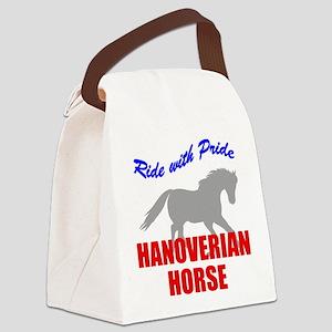rwp-hanoverian-horse Canvas Lunch Bag