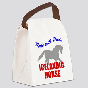 rwp-icelandic-horse Canvas Lunch Bag