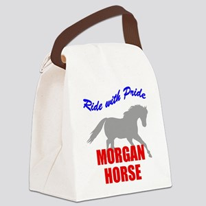rwp-morgan-horse Canvas Lunch Bag