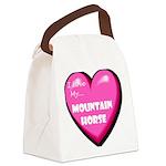 mountain-horse-FIN.tif Canvas Lunch Bag