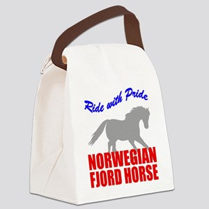 rwp-norwegian-fjord-horse Canvas Lunch Bag