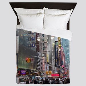 Busy New York Queen Duvet