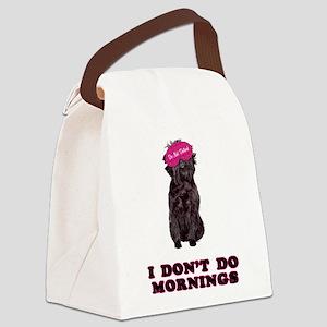 Affenpinscher Mornings Canvas Lunch Bag