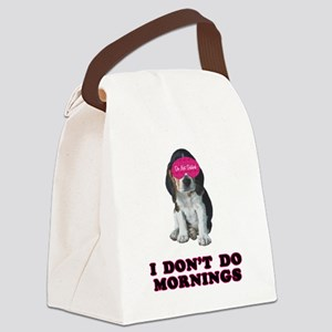 FIN-beagle-mornings Canvas Lunch Bag