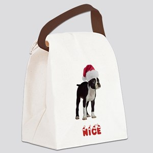 Nice Boston Terrier Canvas Lunch Bag