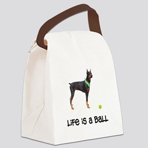 FIN-doberman-pinscher-life-ball Canvas Lunch B
